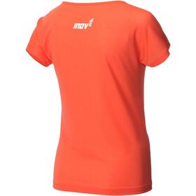 inov-8 AT/C Dri Release SS Shirt Women coral